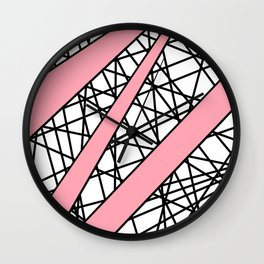Lazer Dance P Wall Clock