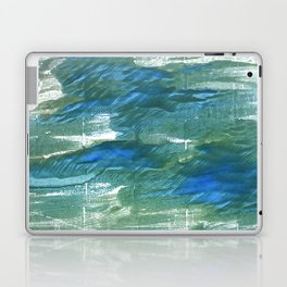 Wintergreen Dream abstract watercolor Laptop & iPad Skin