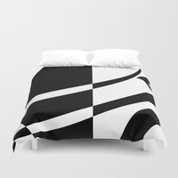 tim burton Duvet Covers featuring Burton by Pixiepot Designs
