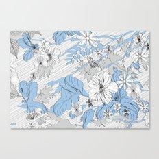 Sketch Garden V Canvas Print