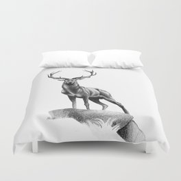 All Muscle - Red Deer Stag Duvet Cover