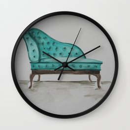 Chaise Lounge Wall Clock