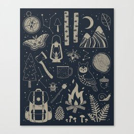 Into the Woods: Stargazing Canvas Print