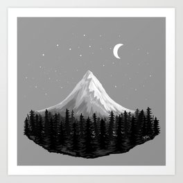 Magnificent Mountain Art Print