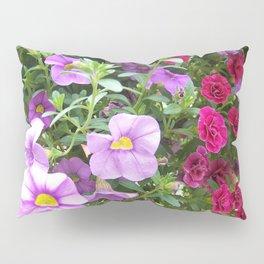Petunias Pillow Sham