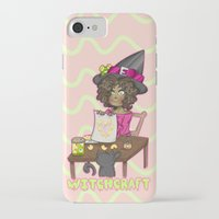 witchcraft iPhone & iPod Cases featuring Witchcraft by Olivia Dierker