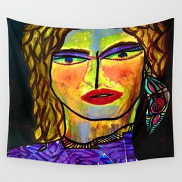 The pole dancer Wall Tapestry