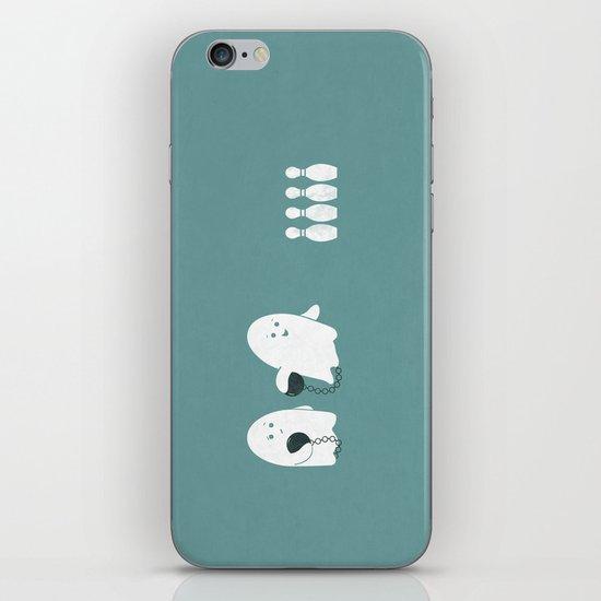 Bowling Ghost iPhone & iPod Skin