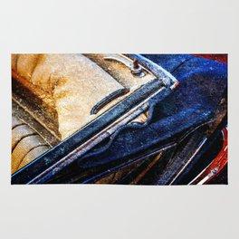 Vintage Car - Velvet Luxury Rug