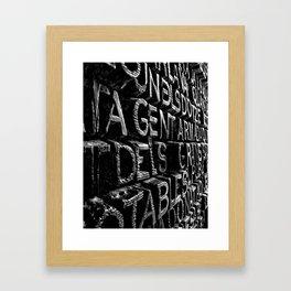 Door of Jesus | Barcelona | Spain Framed Art Print