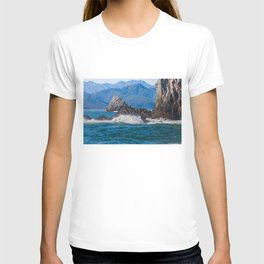 Pacific ocean bay T-shirt