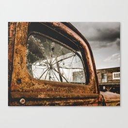 Americana Truck And Bar Canvas Print