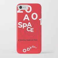 2001 a space odyssey iPhone & iPod Cases featuring 2001: a space odyssey by Rodrigo Müller