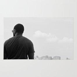 Looking back - Photo Rug