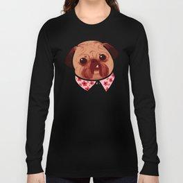 Toofy Pug  Long Sleeve T-shirt
