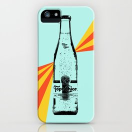 Topo Chico Retro Pop Art iPhone Case