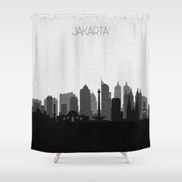 City Skylines: Jakarta Shower Curtain