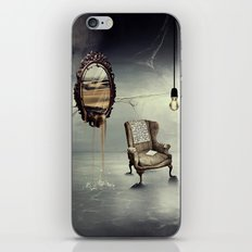 Reflection of truth iPhone Skin