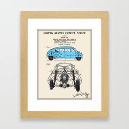 Motor Car Patent Framed Art Print