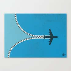 Unzip the sky Canvas Print