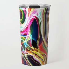 space illustrations abstract background texture Travel Mug