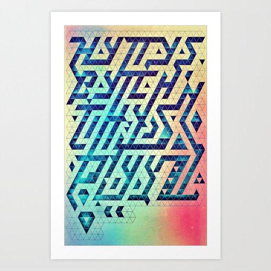 hyttys bytch 'n thys plyyz Art Print