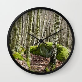 Birches Wall Clock