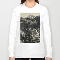 sweden Long Sleeve T-shirts featuring GSTAAD SWEDEN by Kathead Tarot/David Rivera