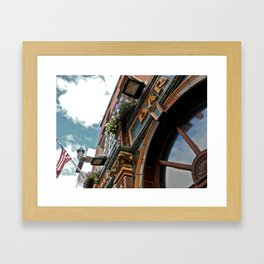 Pub Framed Art Print