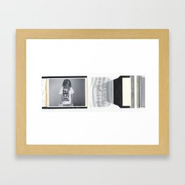 gangsta fo lyfe Framed Art Print