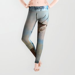 Winter Buck Leggings
