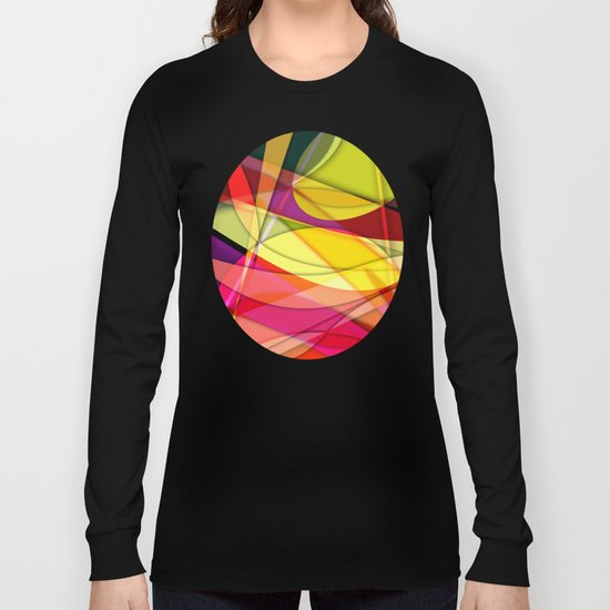Abstract #367 Long Sleeve T-shirt