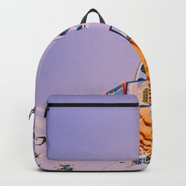 Swing Ride Sunset (Color) Backpack