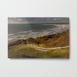 Rhossili bay south Wales Metal Print