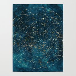Under Constellations Poster