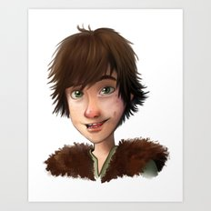 A little Hiccup goes a long way Art Print