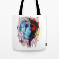 persona 4 Tote Bags featuring Persona by DesArte