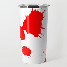 Blood splash Travel Mug