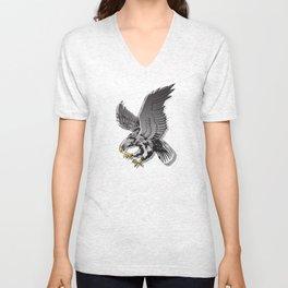 Flying Eagle  Unisex V-Neck