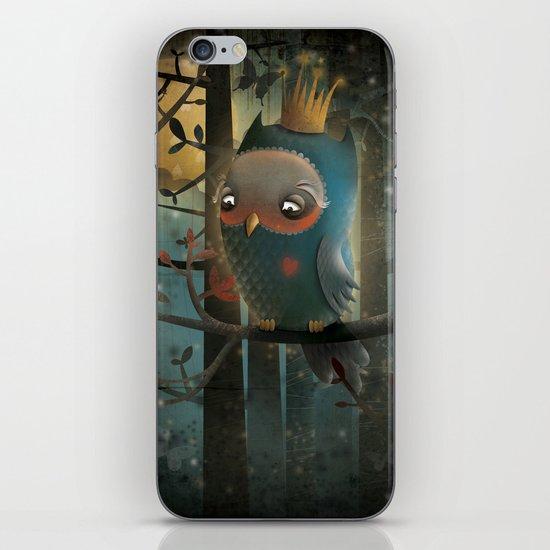 King Owl iPhone & iPod Skin
