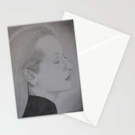 Meryl Streep Profile Stationery Cards
