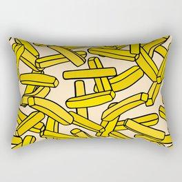 French Fries Rectangular Pillow