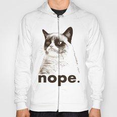 GRUMPY CAT - Nope (version 2) Hoody