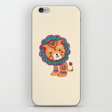 The Little King of the Jungle iPhone & iPod Skin