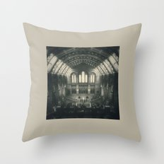London - Natural History Museum Throw Pillow