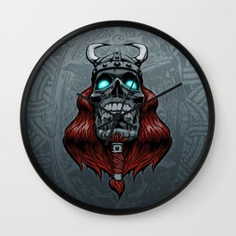 Valhalla Awaits Wall Clock