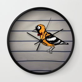 oriole Wall Clock
