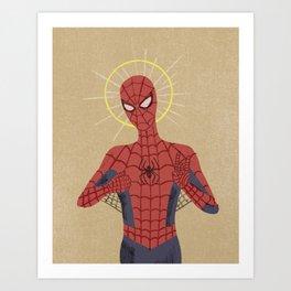 The Gospel of Spider-Man Art Print