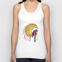 headdress Tank Tops featuring Headdress by Relic X