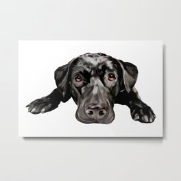 Waiting to Love Metal Print